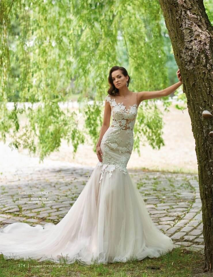 Ona Suknia ślubna Agora Kolekcja Gala 2018
