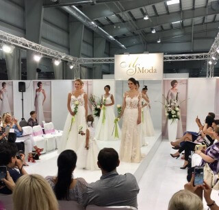 The final presentation of the Ms Moda 2018 collection of wedding dresses