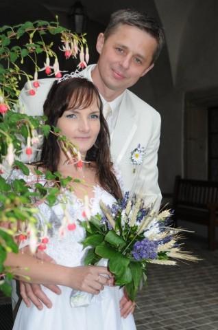 Niezwykle ciepła i skromna Pani Emilia wraz z mężem