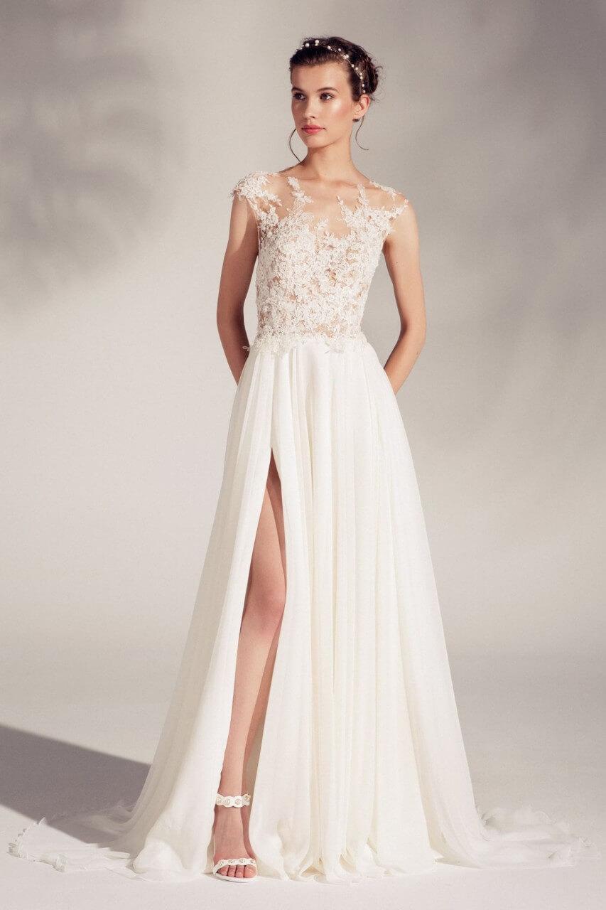 Ona Niezwykle Delikatna I Zwiewna Suknia ślubna Asami Z Kolekcji