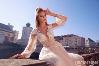 "A new collection of Lorange ""Sincerity"" wedding dresses"