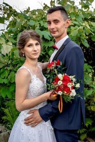 Pani Ania wraz z mężem