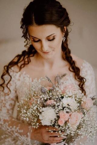 Pani Beata w naszej sukni ślubnej