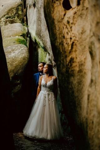 Pani Dominika i jej kilka zdjęć z ślubu