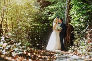 Ms. Joanna sent us some photos from her wedding session