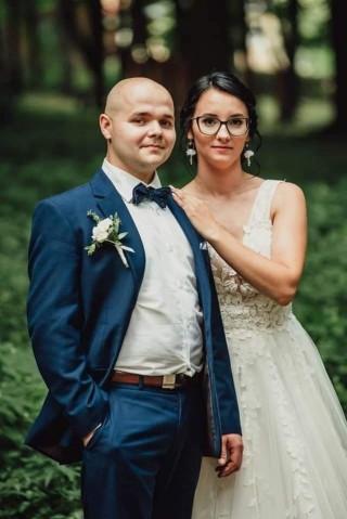 Pani Kamila wraz z mężem