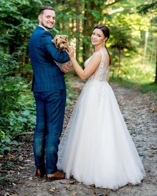 Mrs. Kasia and her husband