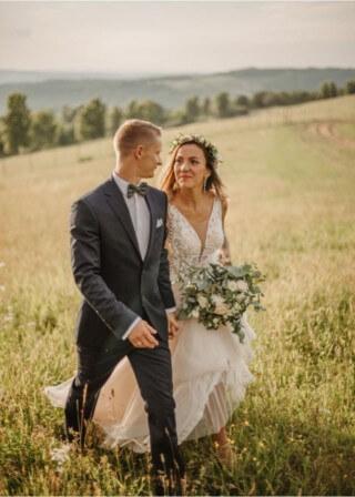 Pani Klaudia podesłała nam kilka zdjęć z sesji ślubnej