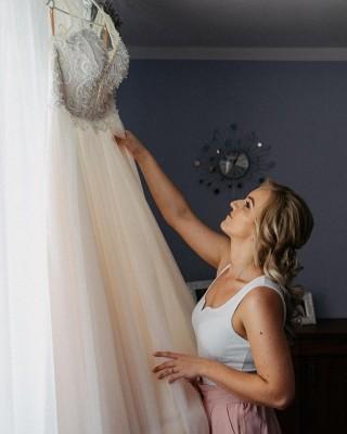 Pani Monika podesłała nam śliczne zdjęcia ze swojego ślubu