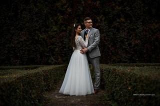 Mrs. Paulina with her husband