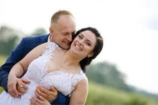 Pani Weronika z mężem