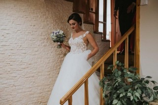 Beautiful lady Catherine - Lorange wedding dress