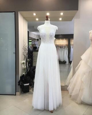 Suknia Claire z kolekcji MS Moda 2020 dostępna w salonie