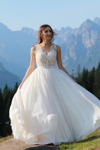 Suknia Machiko kolekcja Gala z drobnymi sugestiami Pani Alicji