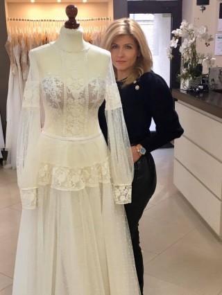 Suknia ślubna Alsu z kolekcji Lorange