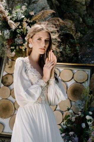 Suknia ślubna Greta z kolekcji Lorange