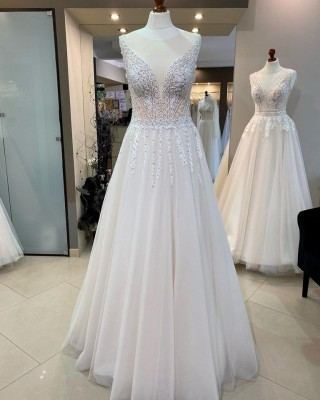 Wedding dress from the Lorange collection