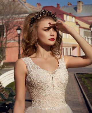 Wedding dress from the new Lorange collection