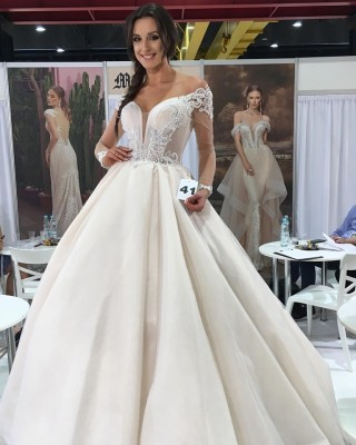 A dress from the new Maxima Bridal collection