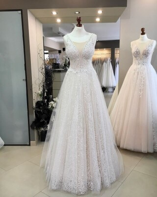 Wedding dresses from the 2020 collection