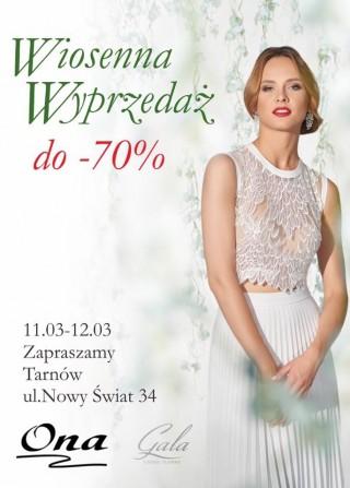 Spring Sale of wedding dresses 2017