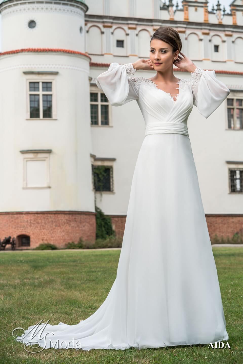 Suknie ślubne Ms Moda 2019